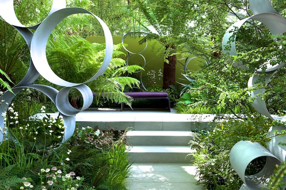 Rhs chelsea flower show contractor david dodd for Garden design ideas rhs